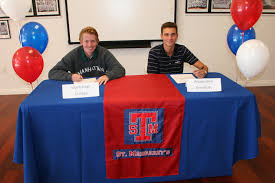 College National Letter Of Intent San Juan Athletes Sign National Letters Of Intent The Capistrano