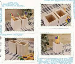 wooden pencil holder plans angels dust rakuten global market plain unpainted wood cypress