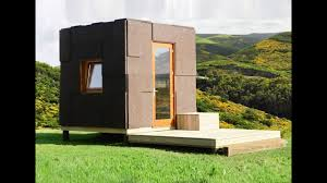 a cork clad ecocubo tiny home tiny house movement small