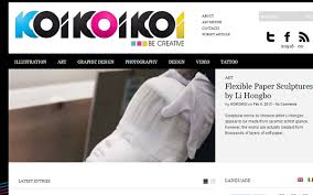 design magazine online 40 magazine style blog layouts for design inspiration spyrestudios
