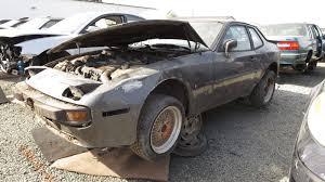 porsche california junkyard find 1983 porsche 944