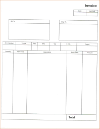 Excel Invoice Template 2010 Standard Invoice Template