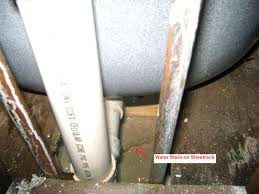 How To Fix Leak Under Bathroom Sink Bathroom Water Leak Under Bathroom Floor On A Budget Simple To