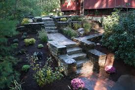 artistic landscapes pavers segmental wall and natural stone masonry