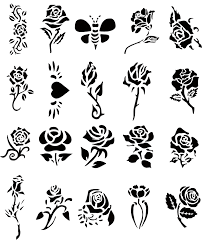 rose tattoo stencils ideas rosegate pinterest tattoo