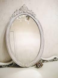 Large Bathroom Vanity Mirror by Chic Vintage Mirror Large Vintage Wood Shabby Chic Mirror Vanity