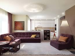 Modern Colorful Living Room Furniture Living Modern With Nature Tones U0026 Color Blasts