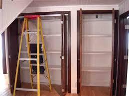 Bi Fold Doors Closet Bi Fold Door Closet Organization Closet Doors