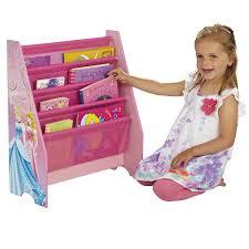 disney princess kids sling bookcase bedroom storage by hellohome