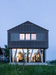 moderne holzhã user architektur neubau einfamilienhaus in holzbau hemishofen dost