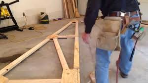 build your own wood trusses youtube