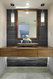 holz f r badezimmer badezimmer holz für design akzentwand stein dunkelgrau beleuchtung