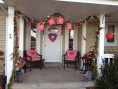 Decorate Porch For Valentines Day by Valentines Day Outdoor Front Porch Decor Front Door Decor