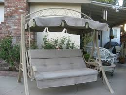 Best Fabric For Outdoor Furniture - luxury patio swing canopy covers using charcoal grey canvas fabric