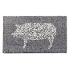sur la table kitchen island kitchen rug pig threshold target