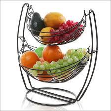 wall fruit basket kitchen kitchen utensil hanging rack kitchen storage solutions 3