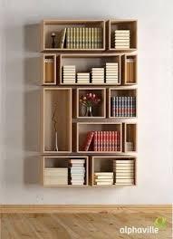 Wall Bookshelf Ideas | 45 diy bookshelves that work shadow box project ideas and box