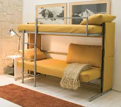 Sofa That Converts Into A Bunk Bed Bedroom Futon Bunk Bed Bunk Bed With Futon On Bottom