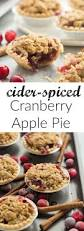 1000 images about cranberry recipes on pinterest cranberry these mini cider spiced cranberry apple pies are so perfect for fall i make them