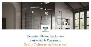 Industrial Shower Door Residential Commercial U0026 Industrial Glass Glassmogul