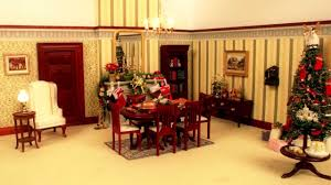Images Of Christmas Decorated Houses Watch This Dolls U0027 House Decorate Itself For Christmas Youtube