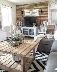 99 diy farmhouse living room wall decor and design ideas 19