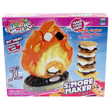 Toy Kitchen Set Food Amazon Com Yummy Nummy Mini Kitchen Playset S U0027mores Maker Toys