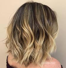 collarbone length wavy hair 80 sensational medium length haircuts for thick hair in 2017