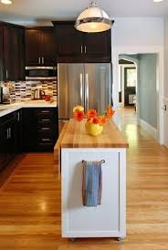 best kitchen islands for small spaces best 25 narrow kitchen island ideas on small kitchen