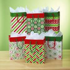 christmas paper bags christmas gift bags gift wrap bags current catalog