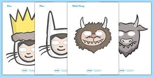 story role play masks support teaching wild