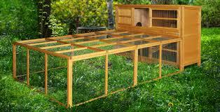 Large Rabbit Hutch Home U0026 Roost U2013 4ft Chartwell Double Luxury Rabbit Hutch