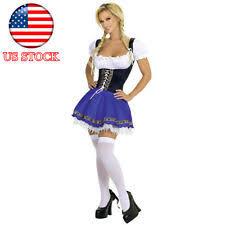 Beer Maid Wench Costume Oktoberfest Couple Gretchen German Fancy women u0027s oktoberfest costumes ebay