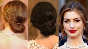 see how to get anne hathaway u0027s oscars red carpet hairstyle red
