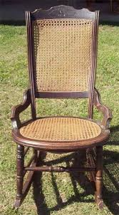 Patio Rocking Chairs Wood Wicker Rocking Chair The Wood Grain Cottage With And Design 27