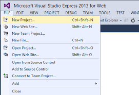 creating a basic asp net 4 5 web forms page in visual studio 2013