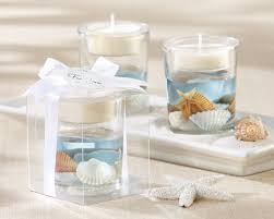 wedding favors candles seashell tealight holder candle favors by kate aspen