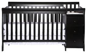 dream on me 5 in 1 brody convertible crib with changer cherry