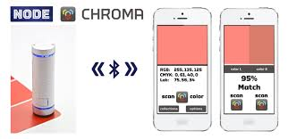 node chroma a wireless color scanner for ios and computers by