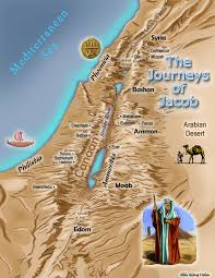 map of the journeys of jacob bible history online