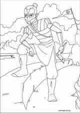 avatar airbender coloring 052 coloringbook org