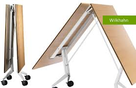 confair folding table mobile conference table by wilkhahn youtube
