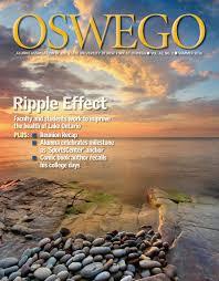 Suny Oswego Map Oswego Alumni Magazine Summer 2016 By Oswego Alumni Association