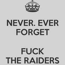 Raider Hater Memes - 46 best raider hater images on pinterest football season oakland