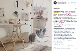 deco bureau enfant instagram une tonne d idées pour un joli bureau cocon de