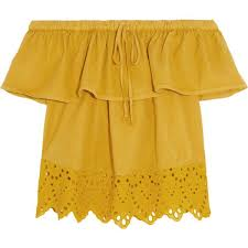 womens yellow tops blouses bonami bd