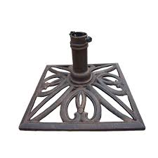 Umbrella Stand Patio Oakland Living Square Patio Umbrella Stand In Antique Bronze 4102