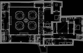 moroccan riad floor plan ostertagarchitects riad lilli 1