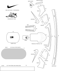 air force 1 layout nike air force one layout model aviation