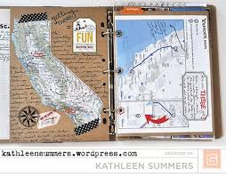 travel photo album basicgrey design team and travel album part 1 travel smash book